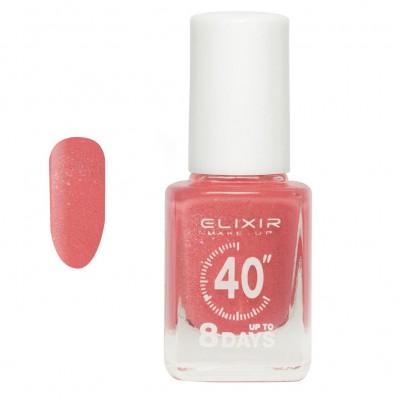 Elixir Βερνίκι 40″ & Up to 8 Days 13ml – #437 (Peachy Crystal)