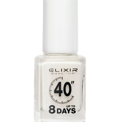 Elixir Βερνίκι 40″ & Up to 8 Days 13ml – #004 (Milky White)